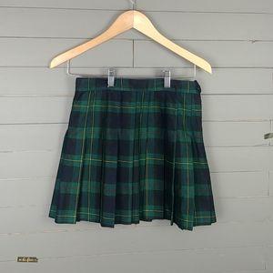 American Apparel Plaid Pleated Tennis Skirt Style